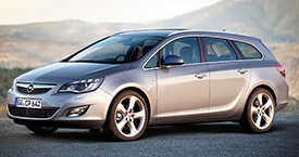Rent a car in Zagreb - Opel Astra