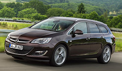 Rent a car in Zagreb - Opel Astra new